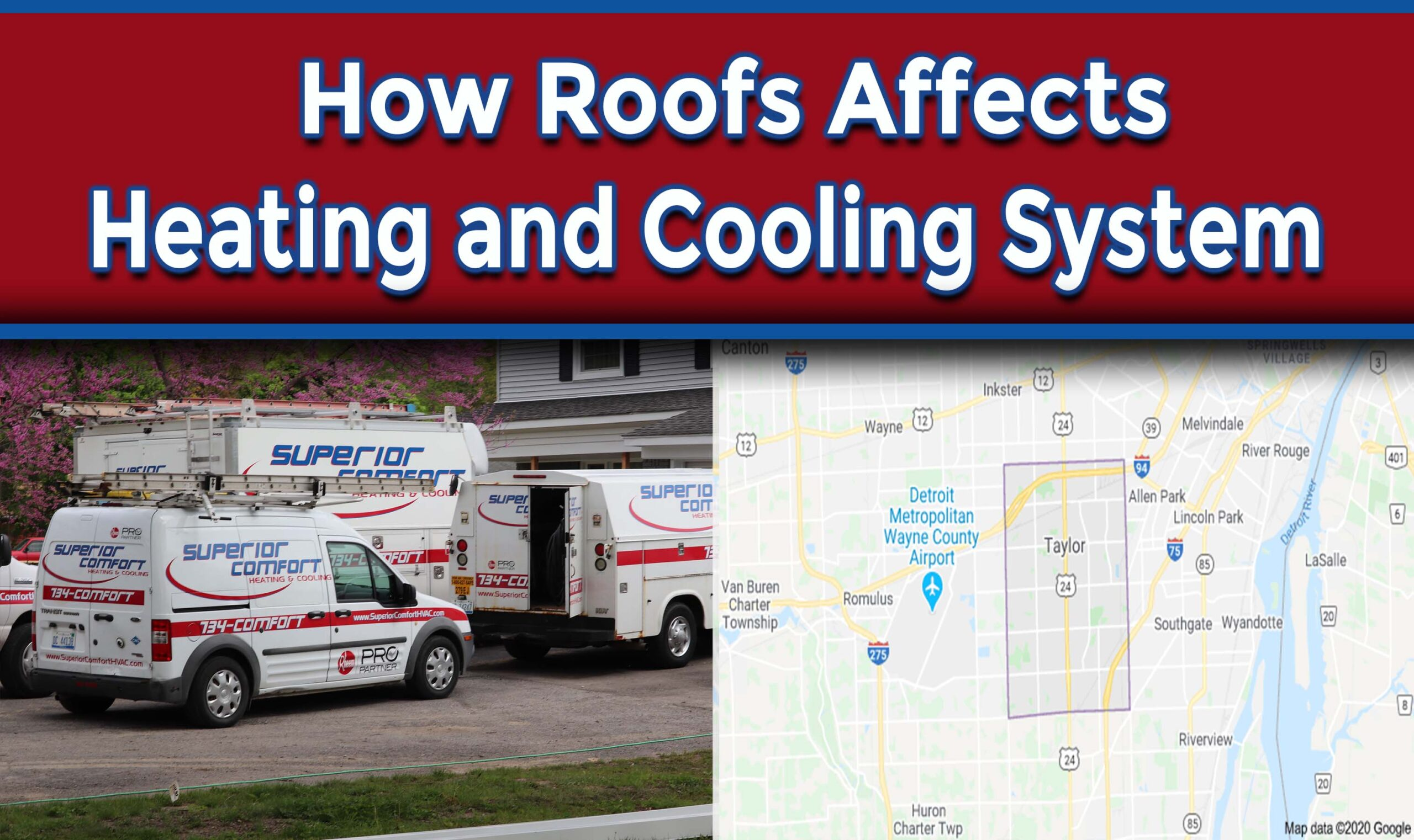 How Roofs Affects Heating and Cooling System