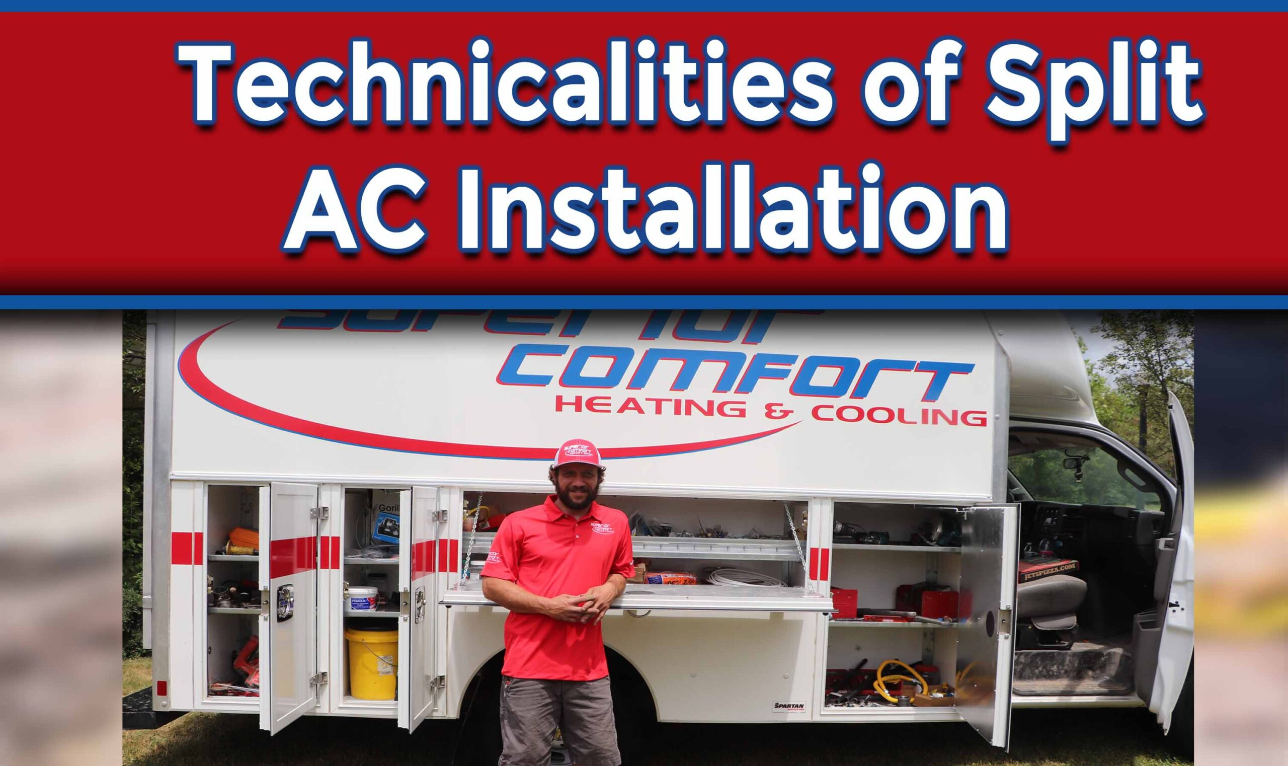 Technicalities of Split AC Installation